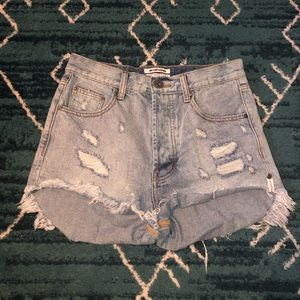 Never worn one teaspoon shorts